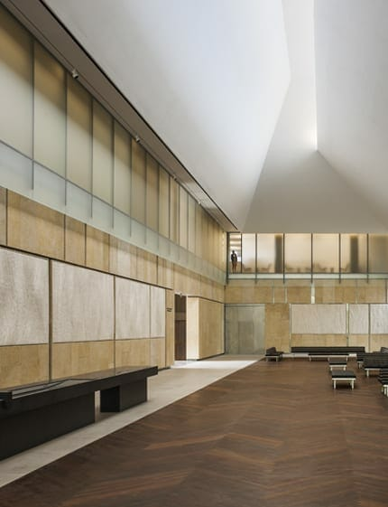 The barnes foundation Philadelphia interior design firms