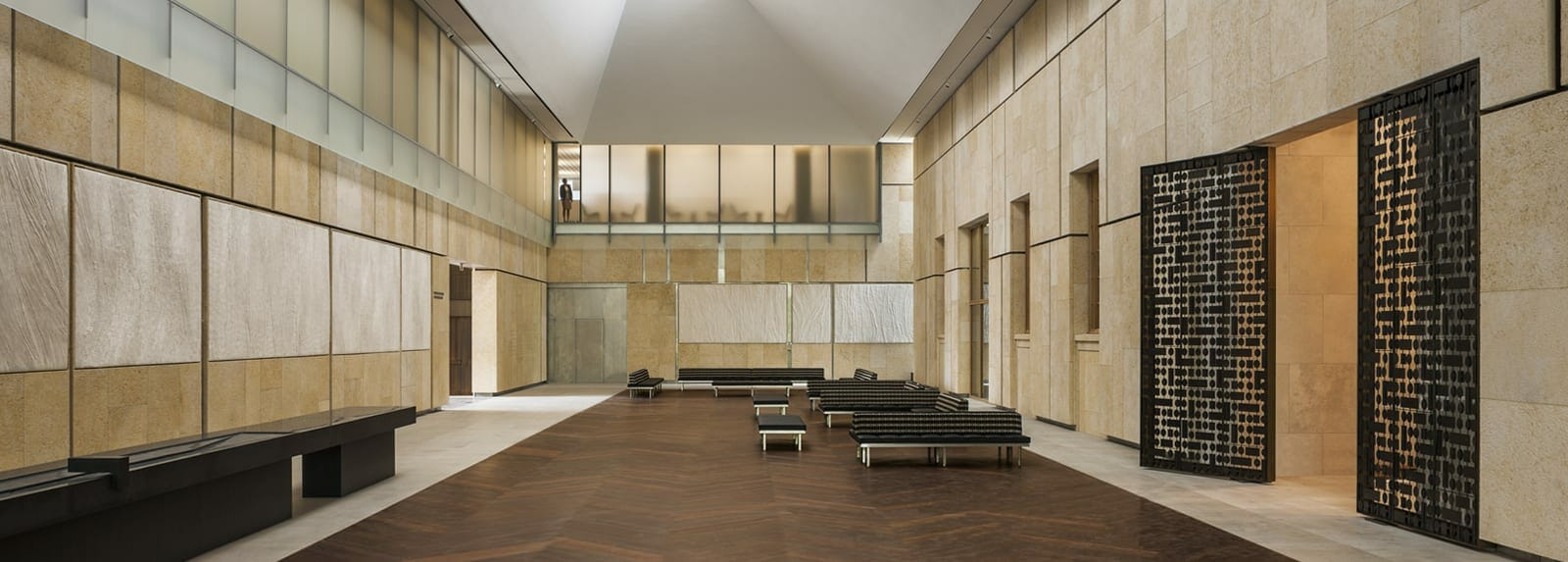 barnes foundation ipe flooring