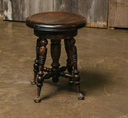 footed stool