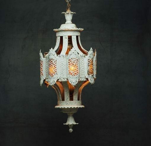 vintage moroccan-style lantern