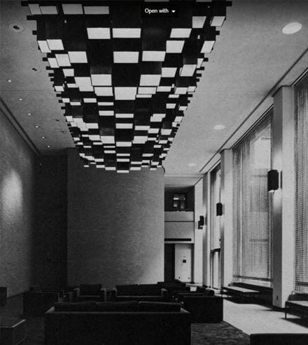 midcentury monumental light