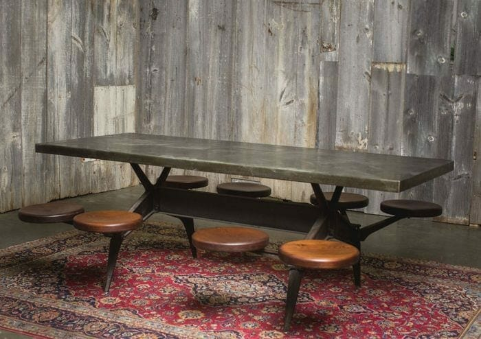 vintage swing-out table