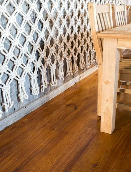 crows nest montauk flooring detail