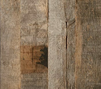 narrow brushed oak barn siding