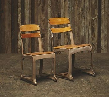 school house chairs