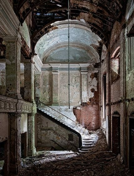 Abandoned America staircase