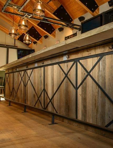 Almshouse bar cladding