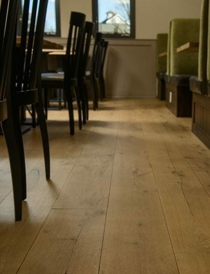 Almshouse flooring