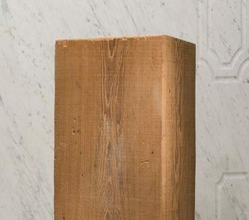 resawn heart pine beam