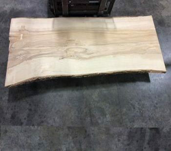 ash live edge slab