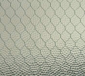 vintage pebbled safety glass