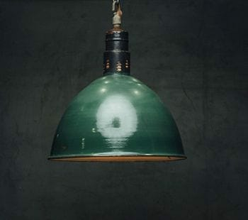 large green industrial light