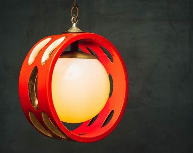 mod ceramic light fixture