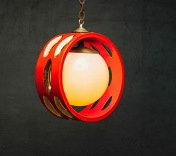 mod ceramic light fixture