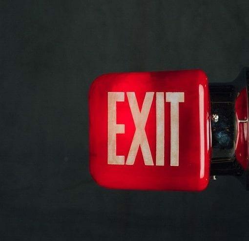 vintage side mount exit side