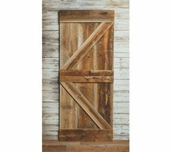 grey antique barn siding barn door