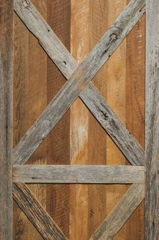 antique circle sawn oak barn door