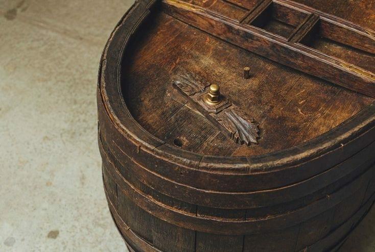 vintage cask