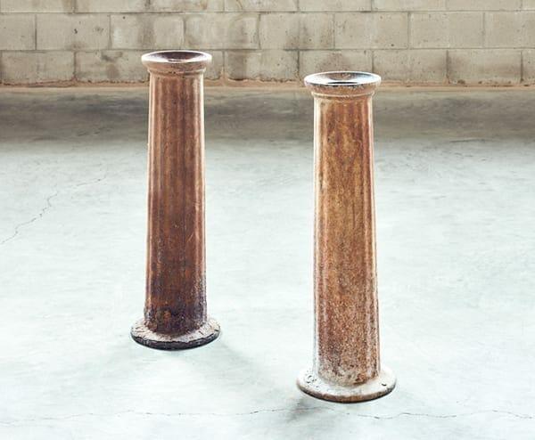 cast iron scale pedestal