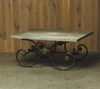 19th-century french butchers table