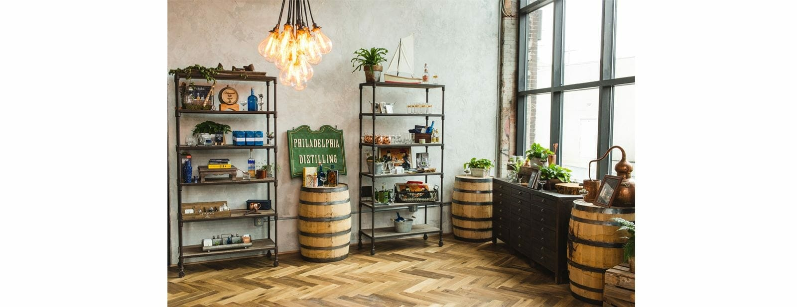 philadelphia distilling flooring