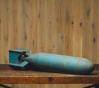 vintage practice bomb