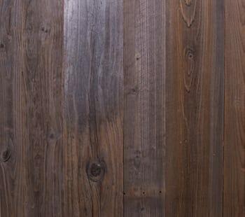 brown grey redwood paneling