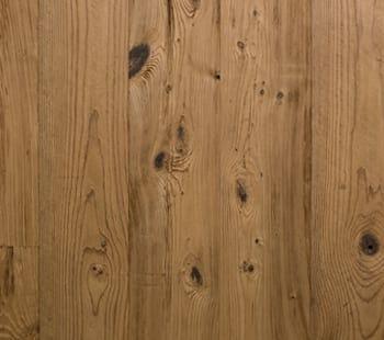 lightly contoured mushroom wood paneling