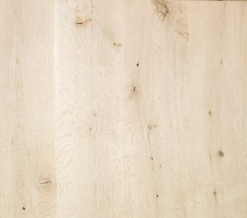 live sawn white oak bleached