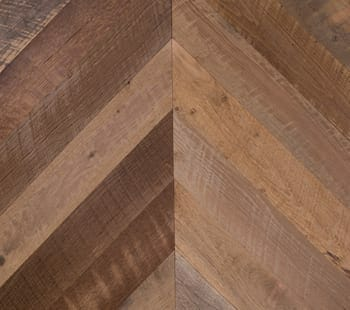 old face mixed oak hit or miss chevron flooring