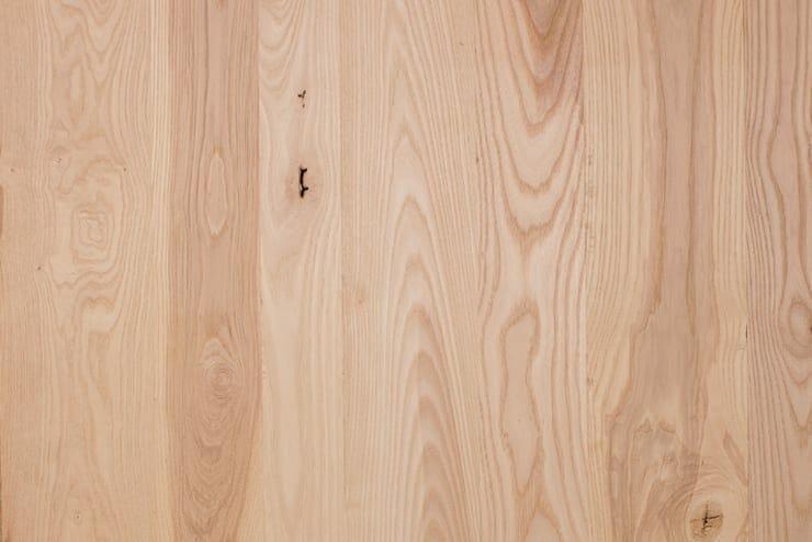 random width ash flooring