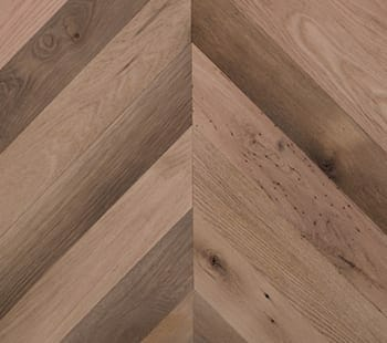 red oak chevron flooring