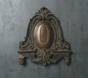bronze cartouche