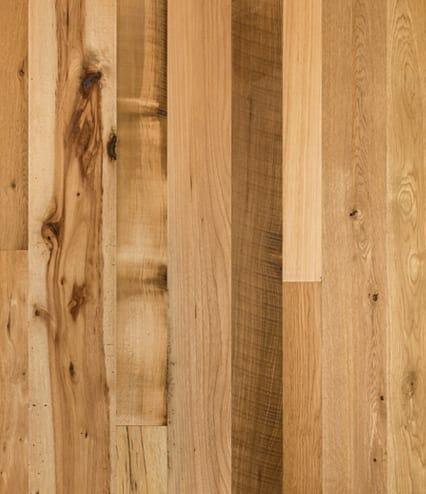 mixed american hardwood flooring