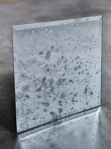 antiqued mirror blizzard