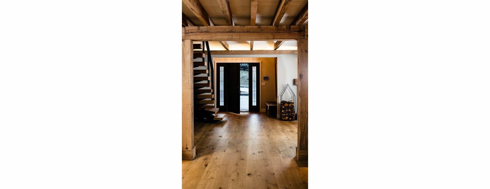 berwyn residence beams flooring
