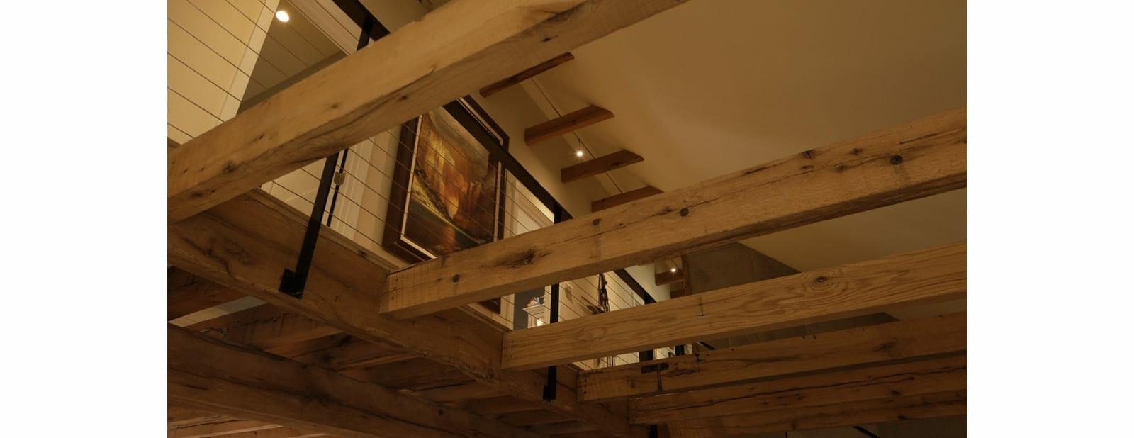 berwyn residence beams