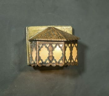 arts and crafts sconce