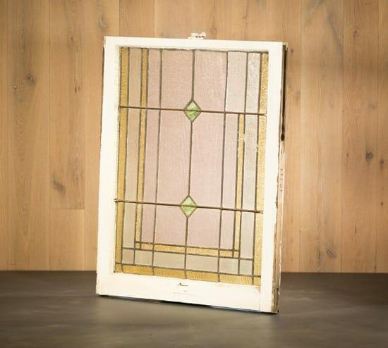diamond stained glass window