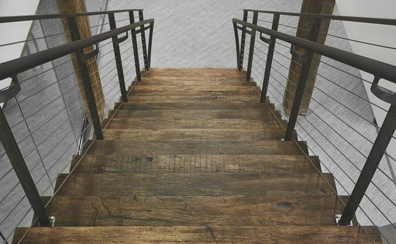 jatoba stair tread with naturale finish