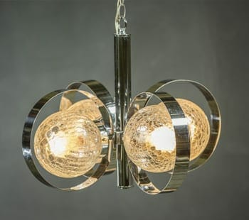 gaetano sciolari-style chandelier
