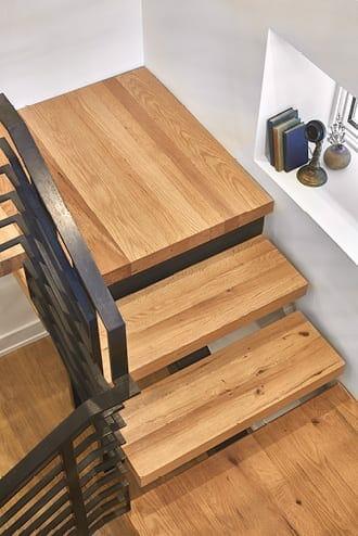 premium oak stair treads
