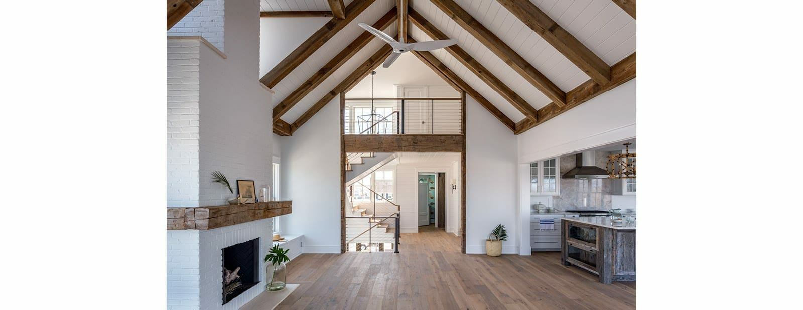 avalon shorehouse faux beams