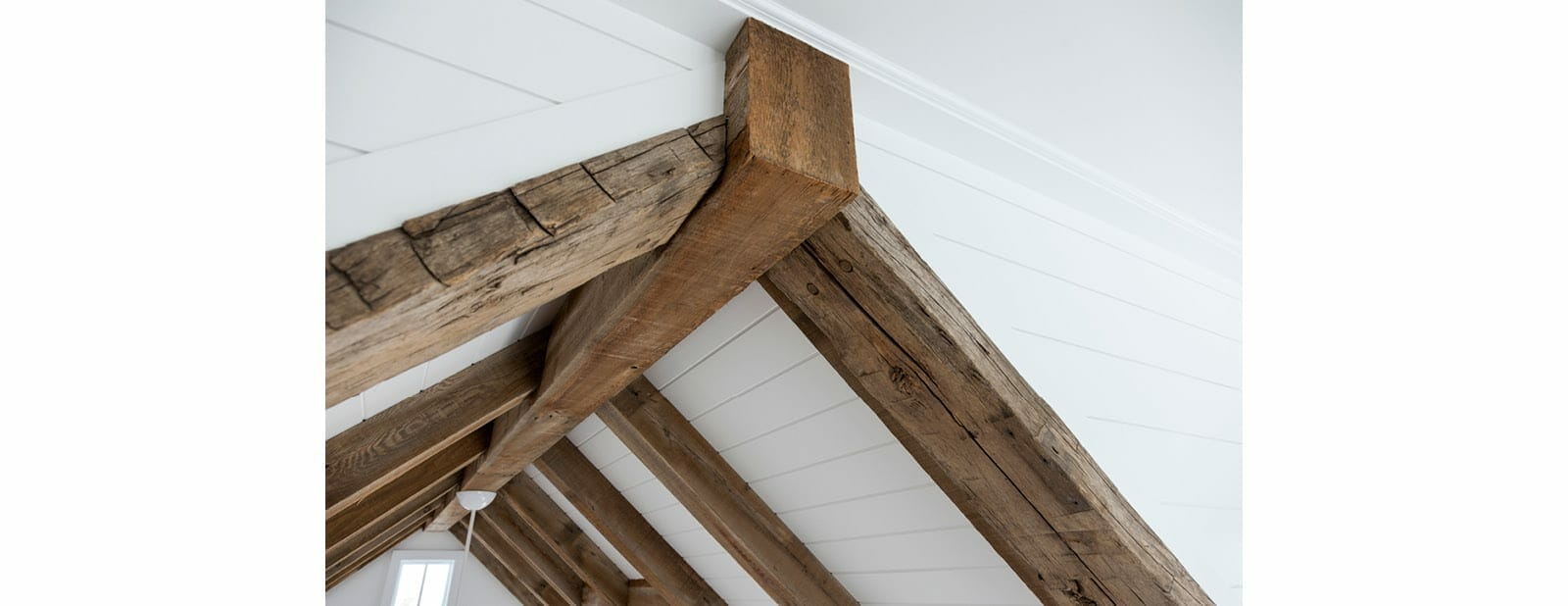 avalon shorehouse faux beam detail