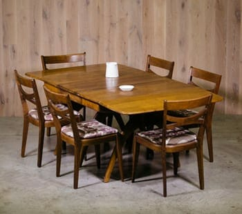 heywood wakefield dining table set
