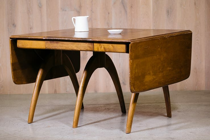 Heywood-Wakefield Butterfly Drop-leaf Dining Table