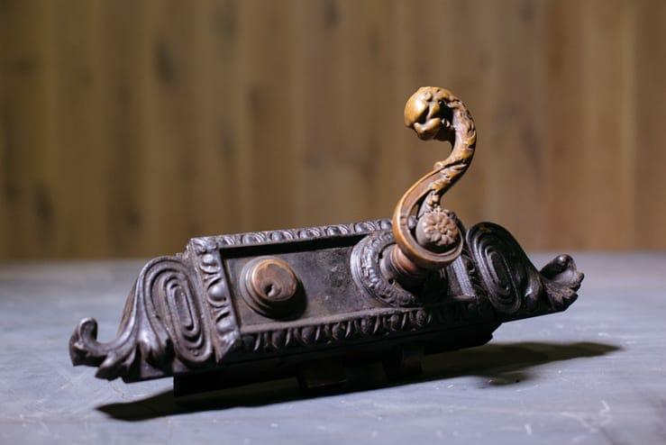 victorian lion lock set