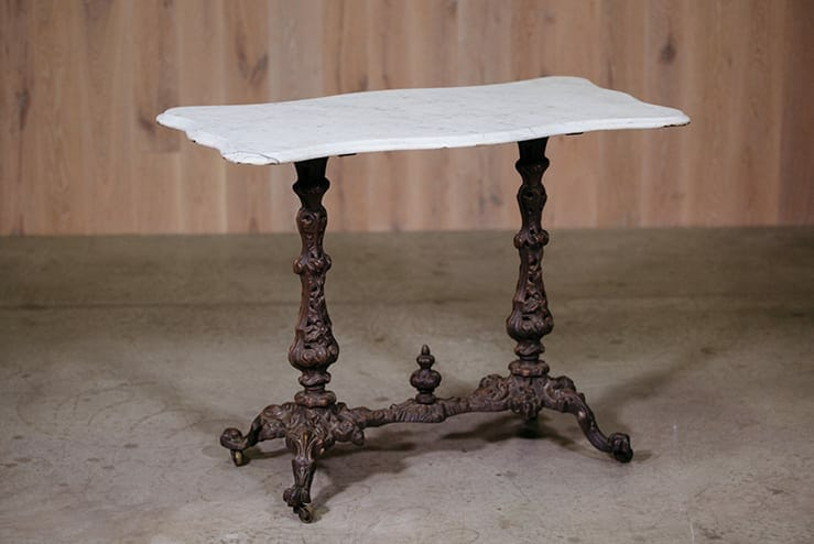 paw foot marble table