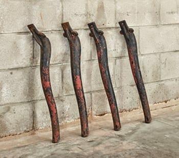 lucinda cast iron stove legs