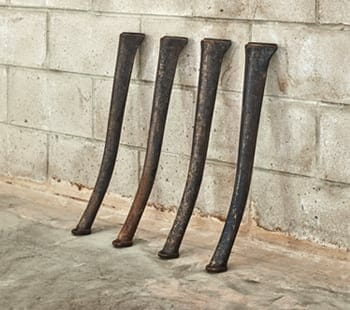 charlotte industrial cast iron legs